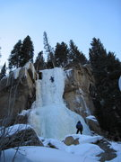 Rock Climbing Photo: Hidden Falls 123109 #2