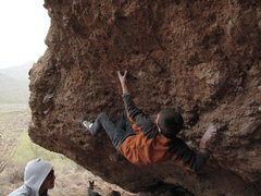 Rock Climbing Photo: Footwork.
