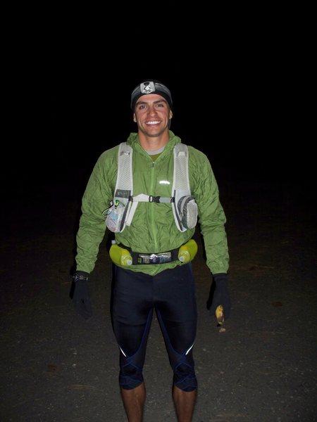 Rock Climbing Photo: Grand Canyon Rim to Rim to Rim 12/4/09, 42-ish mil...