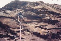 Rock Climbing Photo: Starting up....