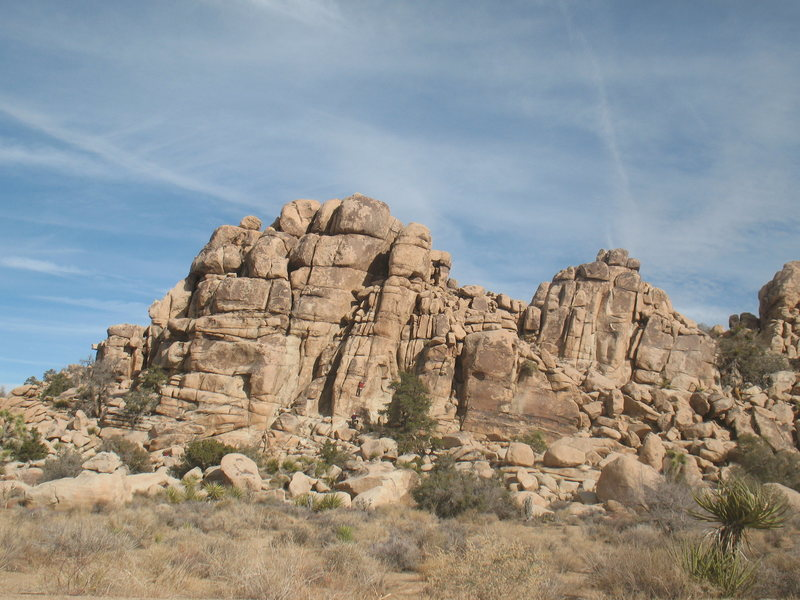 Rock Climbing Photo: Cereal Rock, Joshua Tree NP
