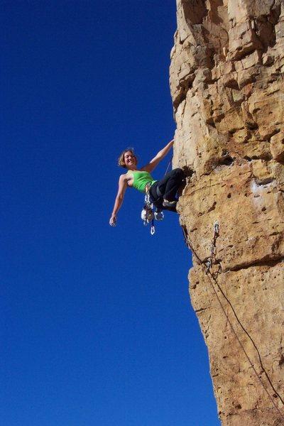 Rock Climbing Photo: Relaxing on Funkdemental.