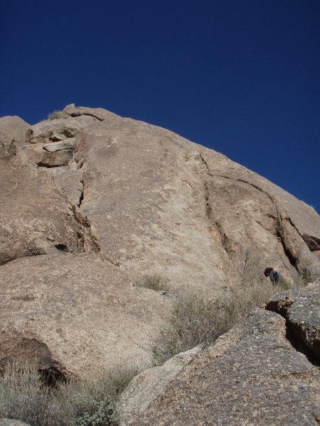 Rock Climbing Photo: Last Light