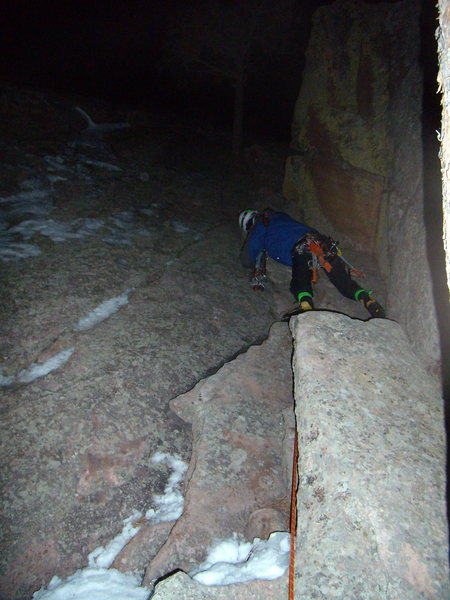 Tony Maul on last pitch of Silk Road. New Years Night 2010.
