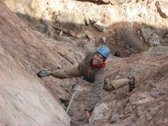 Rock Climbing Photo: Jordon Griffler on New Era.  Garden of Gods.  Fall...