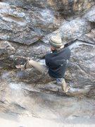 Rock Climbing Photo: Jay keeping centered....