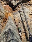 Rock Climbing Photo: Start of the climb