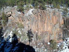 Rock Climbing Photo: Sine Wall