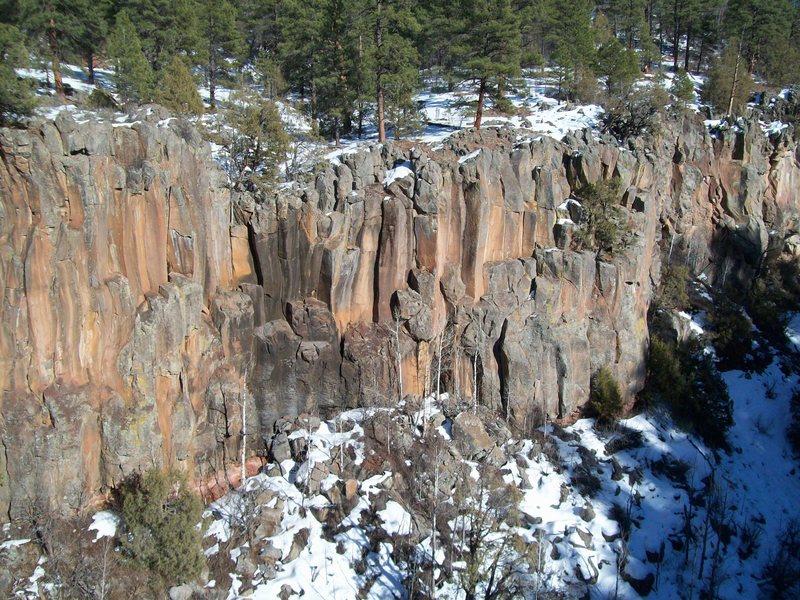 Rock Climbing Photo: Obscenity Wall