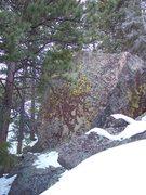 Rock Climbing Photo: Winter.