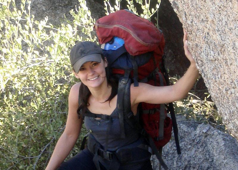 Rock Climbing Photo: I love a good approach
