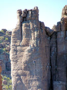 Rock Climbing Photo: Unknown climbers on Damsels in Distress and Hidden...