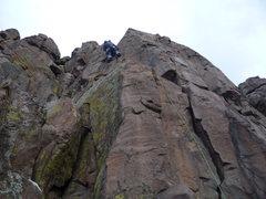 Rock Climbing Photo: A fine climb on a Winter day.