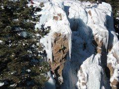 Rock Climbing Photo: Beautiful line!