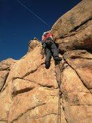 Rock Climbing Photo: Start of the Stinky Wet Kitty...