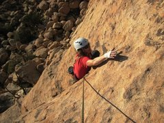 Rock Climbing Photo: Top of the Stinky Wet Kitty.  Take care on the fin...