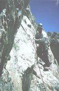 Rock Climbing Photo: Joe Brown new routing.