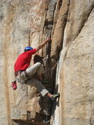 "Rock Climbing Photo: ""Redpoint Ryan"" on Cragmire"