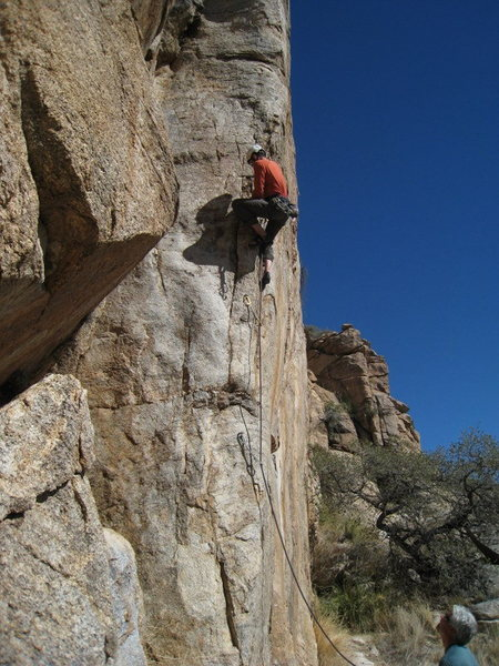 Rock Climbing Photo: Jesse S. on Magnetopause