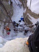 Rock Climbing Photo: Top of Homer's 1-3-2010.