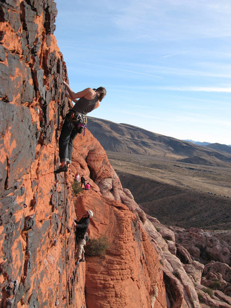 Climbers on Panty Wall