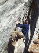 Rock Climbing Photo: Chris pullin At Rumblin.