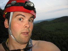 Rock Climbing Photo: Hello MP.