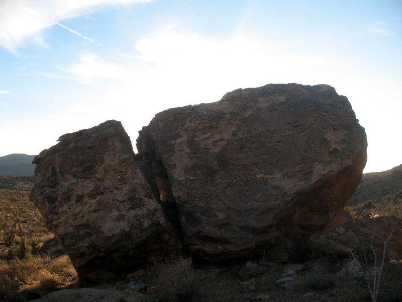 Mullet Bloc (North Face), Joshua Tree NP