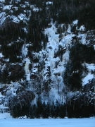 Rock Climbing Photo: Chouinard's Gully seeing from the far side of Chap...