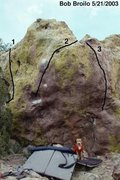Rock Climbing Photo: American Beauty Boulder 1 - Ripple 2 - American Be...