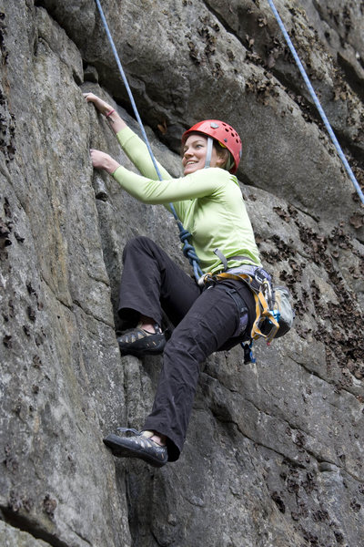 Rock Climbing Photo: Hanging mt