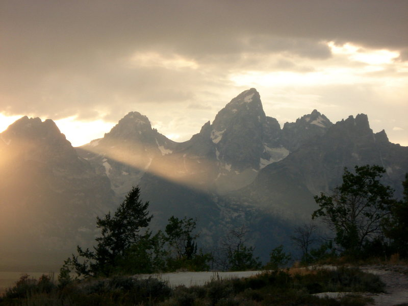 Le Trios Tetons from Antelope Flats, 2009