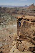 Rock Climbing Photo: South Six Shooter, Utah, 2009