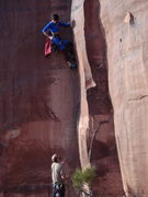 Rock Climbing Photo: Superman goes to Indian Creek.  Unnamed 10