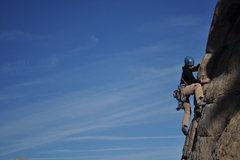 Rock Climbing Photo: Valarie on Rainey Day Women.