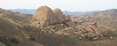 Rock Climbing Photo: This is a view of the main rock formation in Texas...