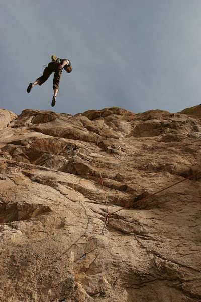 Rock Climbing Photo: Good idea of what you'll be looking up at as you'r...