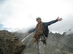 Rock Climbing Photo: The Spearhead.