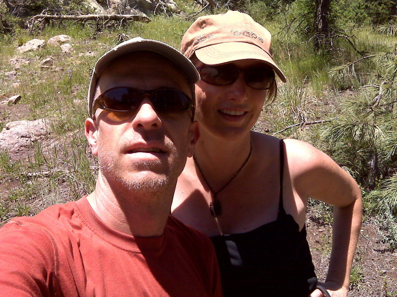 Teresa and myself.