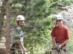 Rock Climbing Photo: Carl's big day.