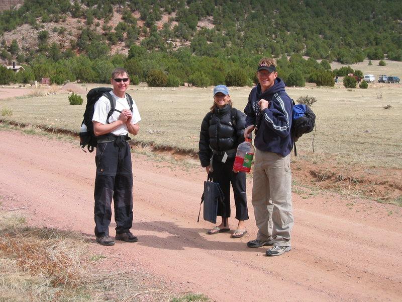 Rock Climbing Photo: K.T., Bonnie and Chad.
