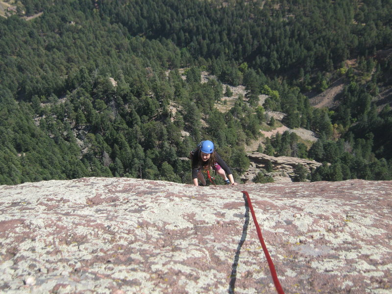 Rock Climbing Photo: Third Flatiron, Boulder, CO. September 13th, 2009