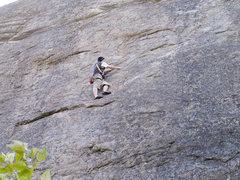 Rock Climbing Photo: Top roping at Kids Cliff, Skaha