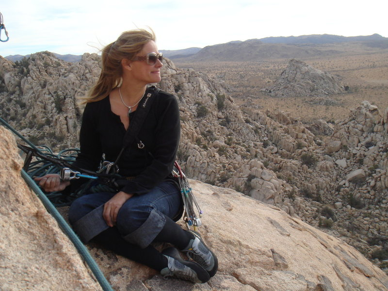 Rock Climbing Photo: Contemplative-what is ahead?