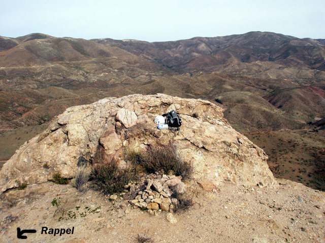 Rock Climbing Photo: Here is a picture of the summit of the main format...