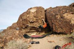 Rock Climbing Photo: Shit Talk, V2