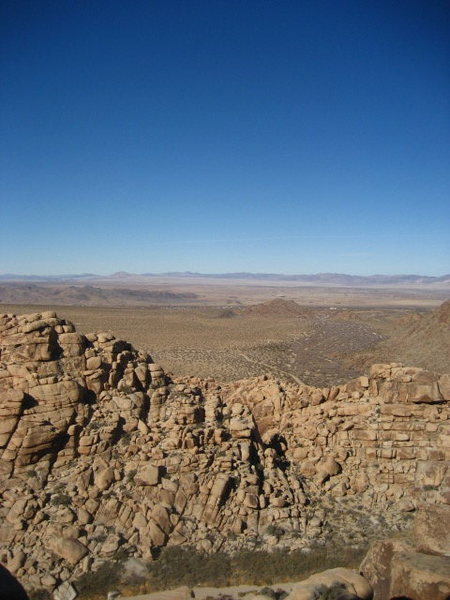 Rock Climbing Photo: Another shot looking North towards 62/29 Palms hig...