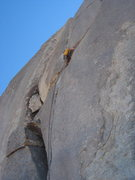 Rock Climbing Photo: Starting traverse on Back-Up Singers, found that s...