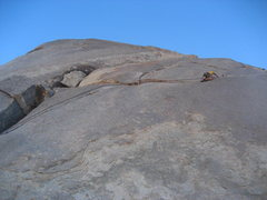 Rock Climbing Photo: Getting back on my feet after the hands traverse