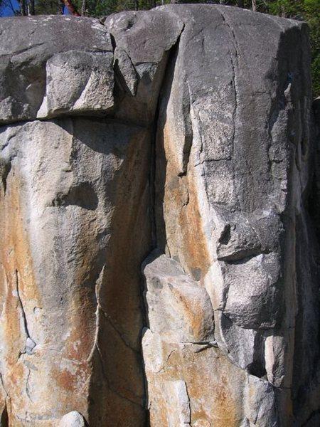 Rock Climbing Photo: More awkward than it appears.